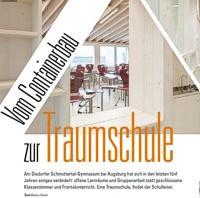 """""""Vom Containerbau zur Traumschule"""""""