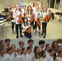 Chor- und Streicherklassen am SGD