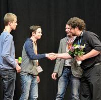 "Erster Platz beim Schulwettbewerb ""Teach the Fabby"" zum Thema ""3D-Druck"""