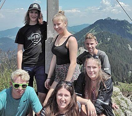 Wandertag 10. Klassen – Brunnkopfhütte