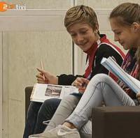 logo!: Schule aus Holz – ZDF tivi berichtet über das SGD